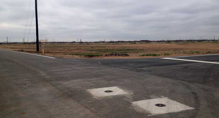 lot for sale paved road